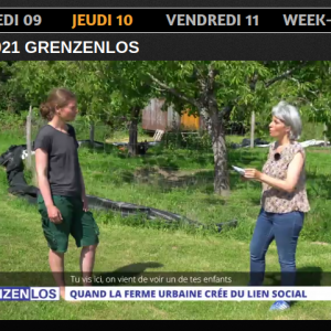 Beitrag zur Solawi auf TV8 Moselle-Est